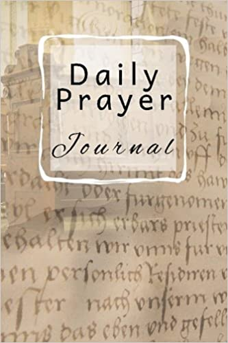Daily Prayer Devotional Book Blank Prayer Journal 6 x 9 108 Lined Pages