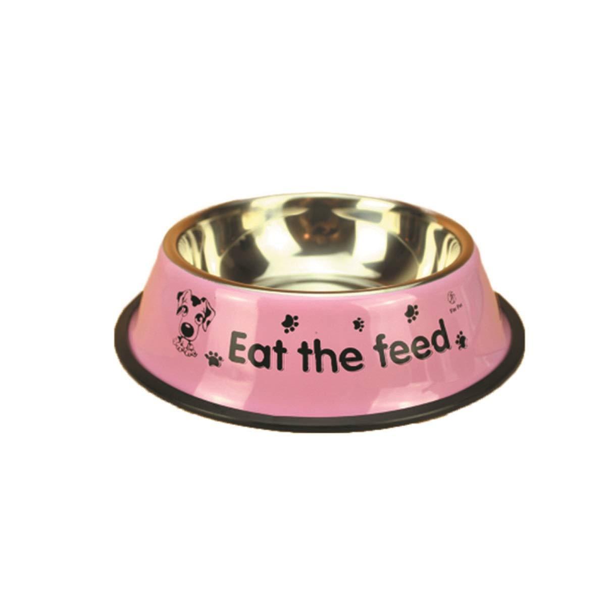 Haoyushangmao Cat Bowl, Dog Bowl, Dog Feeder, Q Cat Bowl Vivipet Oblique Mouth Flat Face Cat Pet Cat Bowl Food Bowl Water Bowl Cat Food Eat Ceramic Rice Bowl Latest Models (color   Pink, Size   M)