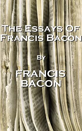 "An analysis ""Of Studies"" by Francis Bacon"