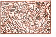 Lugar Americano De Plástico Leaf Rosé 30x45cm Lyor Rosé