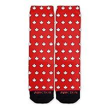 Function - Canada Maple Leaf Pattern Fashion Sock