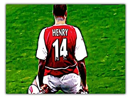 cheap for discount 5d094 345d9 THIERRY HENRY ARSENAL FC A2 POP ART PRINT: Amazon.co.uk ...