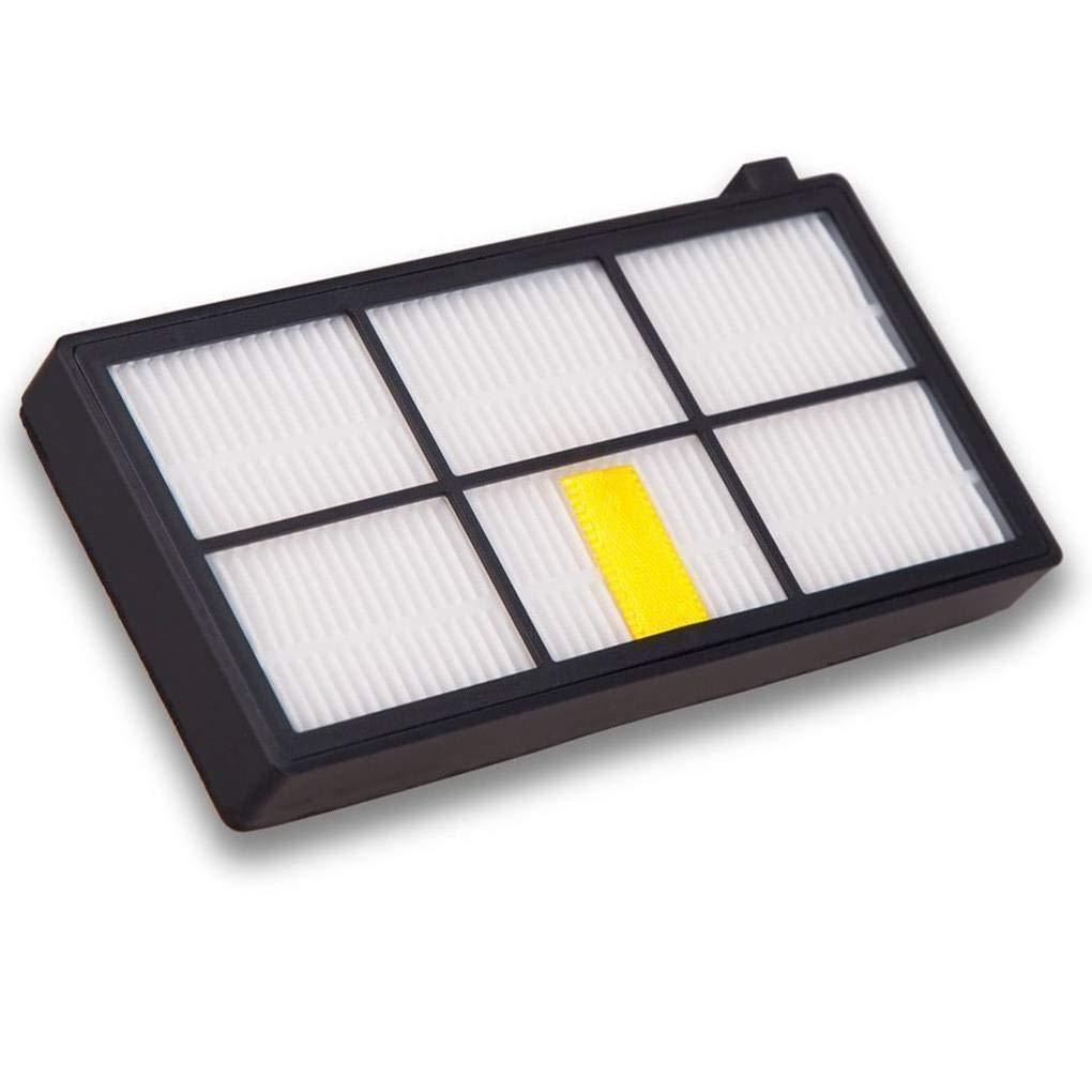 Fornateu 12PCS Set Ersatzteile f/ür iRobot Roomba 800 Serie Staubsauger HEPA-Filter-Set