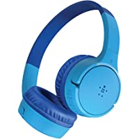 Belkin SoundForm Kids Wireless Headphones with Built in Microphone, On Ear Headsets Girls and Boys For Online Learning…