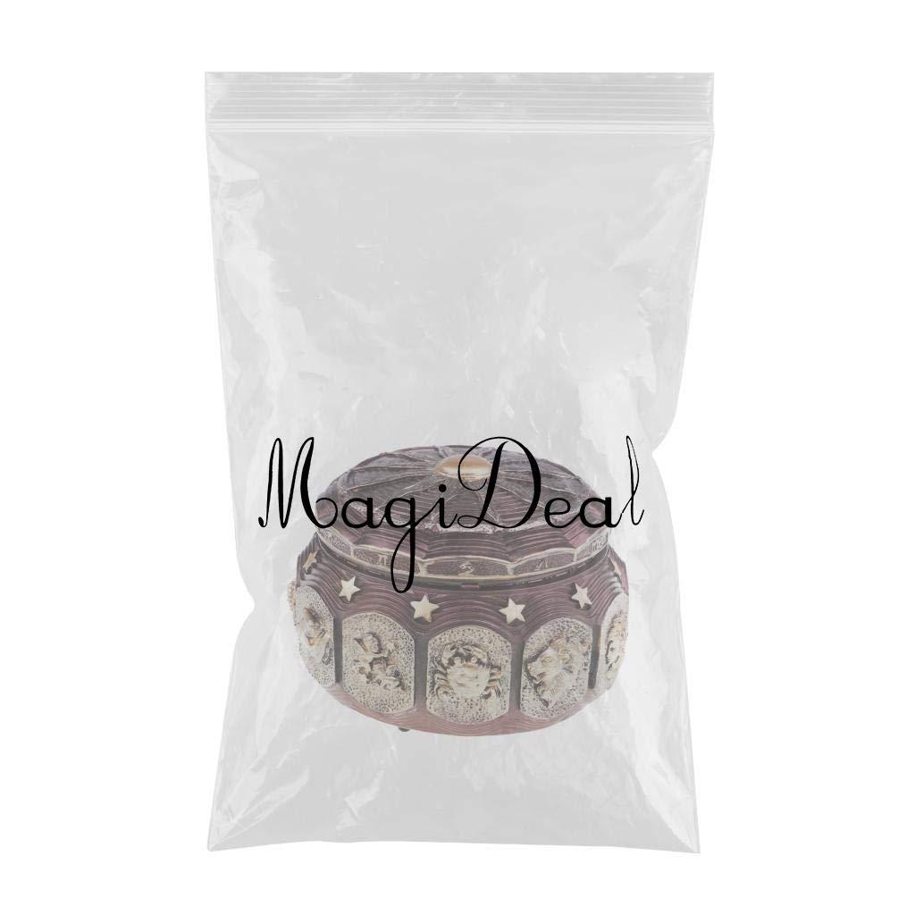 MagiDeal MagiDeal MagiDeal 1 Stück 12 Sternbilder Spieluhr Vintage Rund Uhrwerk Hölzerne Spieluhr Musik Box für Kinder Mädchen Frauen Geschenk - Leo B07G8PJ5FX Spieluhren b1a026