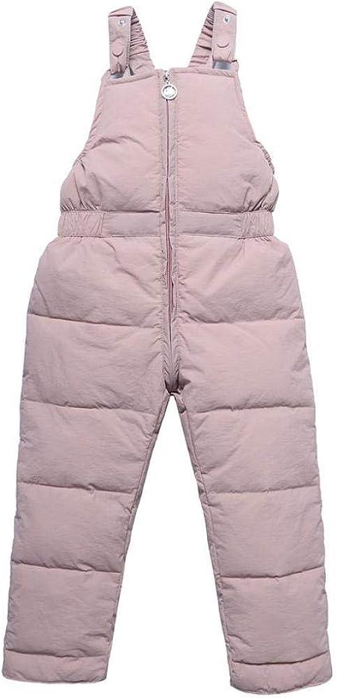 Tonsee Kinder Winter Overall mit Daunen Kleinkind Jungen M/ädchen Schneehose Latzhose Strampler Rompers Herbst Winter Warm Dicker Mantel Coat Outfit 1-9 Jahre