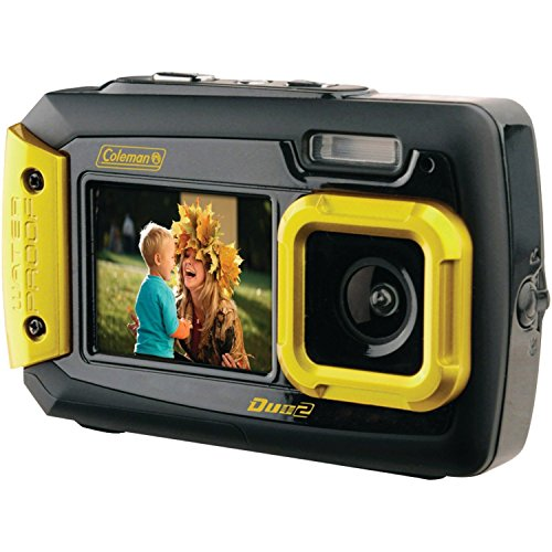 COLEMAN 2V9WP-Y 20.0-Megapixel Duo2 Dual-Screen Waterproof D