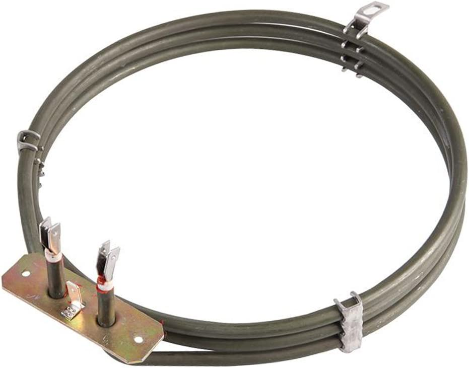 Spares2go 3 Turn Heater Element For Kenwood Fan Oven Cookers 2200W