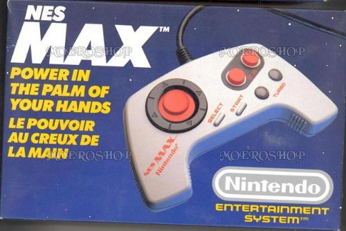 NES Max Pad nintendo entertainment system
