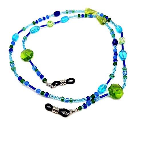 Acrylic Glass Necklace (Beads Beaded Eyeglass Chain Sunglass Holder Strap Lanyard Necklace)