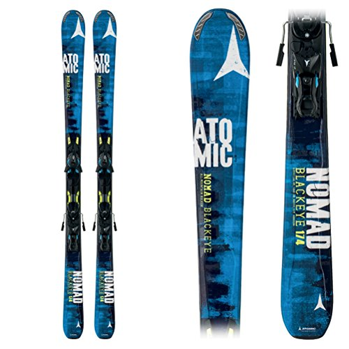 Atomic Nomad Blackeye Skis 174 w XTO 12 Bindings Mens Sz 174cm