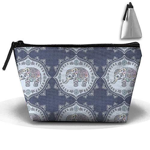 3d Printing Bag Trapezoidal Receive Bag Gypsy Inspiration Bag Pencil Bag Or Cosmetic Bag Zipper ()