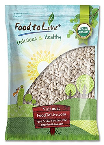 Organic Cannellini Beans by Food to Live (Raw, Dried, Non-GMO, Kosher, White Kidney Beans in Bulk, Product of the USA) — 10 Pounds