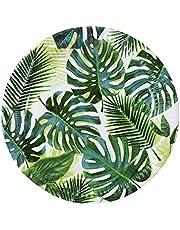 Talking Tables Set van 8 (250 ml / 9oz) papieren borden met groene tropische palmbladeren Decoraties voor Hawaiiaans verjaardagsfeestje, tropisch thema, Fiesta, Jungle, Luau, verjaardag