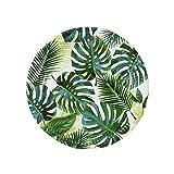 """Kitchen & Housewares : Luau Party Hawaiian Theme Party Supplies Paper Plates Palms 9"""" Round Set 8"""
