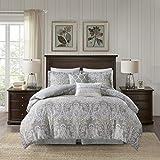 110x96 King Comforter Sets Harbor House Hallie Comforter Set, Grey