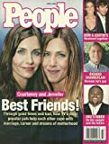 Courteney Cox and Jennifer Aniston, Richard Chamberlain - June 9, 2003 People Magazine