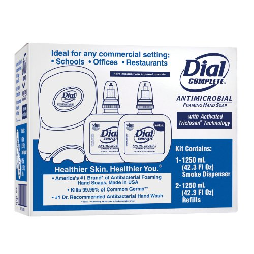 (Dial Complete 1700725 Duo Manual Starter Kit with 2 Refills and 1 Smoke)