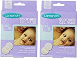 Lansinoh Soothies Gel Pads, (Pack of 2 (4 Count)