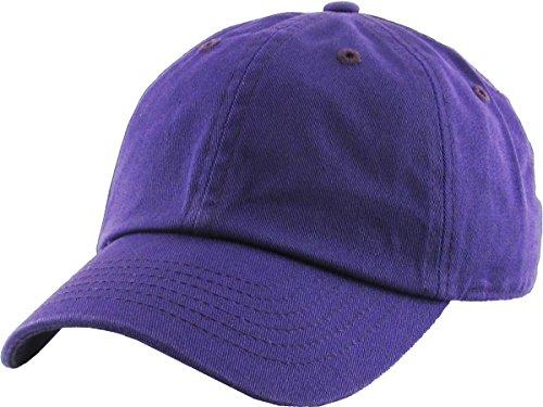 Funky Junque H-100kids-40 Kids Baseball Cap - Purple (2-5)