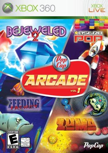 PopCap Arcade Vol. 1 (Bejeweled 2, Astro Pop, Feeding Frenzy, Zuma)