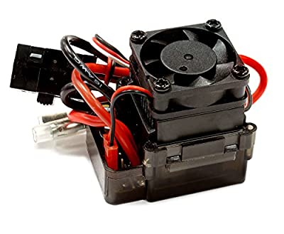 Integy RC Hobby C25557 Type III Rock Crawler ESC w/ Drag Brake + Fan (Limit: 55T Motors & 7.2V Input)