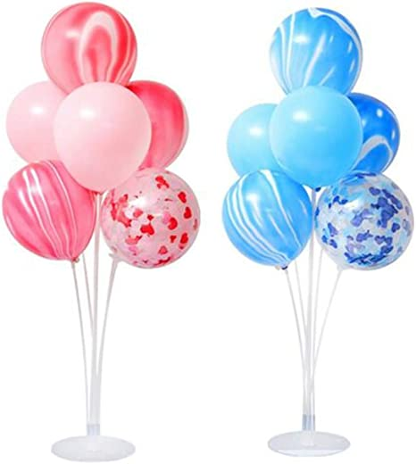 NUANNUAN - Soporte de balón para balón de plástico, Base Blanca ...