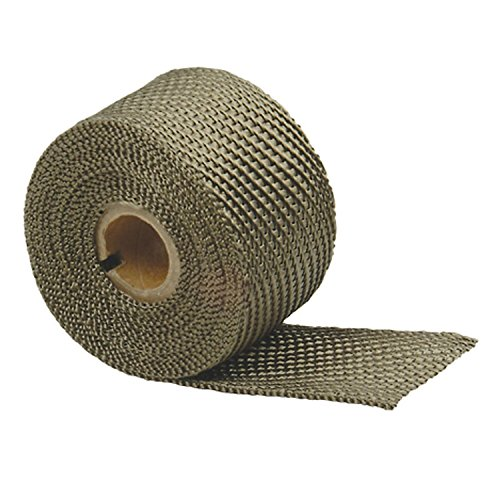 "DEI 010125 Titanium Exhaust Heat Wrap with LR Technology, 2"" x 33"