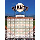 San Francisco Giants Jumbo Dry Erase Sports Calendar