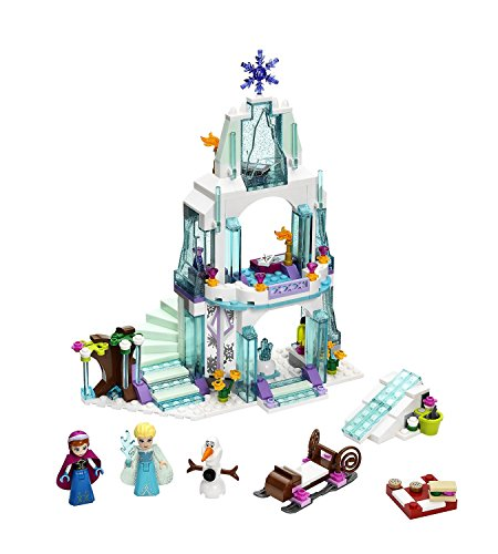 LEGO Disney Princess 292 PCS Elsa's Sparkling Ice Castle Brick Box Building Toys (Jake And The Neverland Pirates Sleeping Bag)