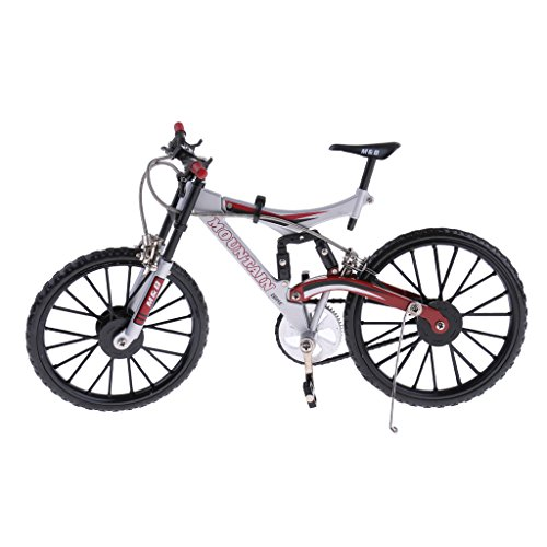 MagiDeal 1:10 Miniature Bicycle Diecast Mountain Bike Model Toy Collectibles (Bike Diecast Collectible)