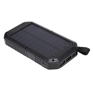 Cargador Solar portátil, Qi inalámbrico Banco de energía ...