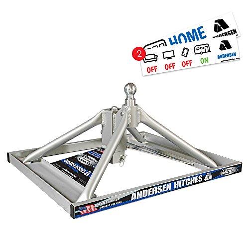 Andersen Hitches 3220 | Aluminum Ultimate 5th Wheel Connection 2 | Gooseneck Version | Weighs Only...
