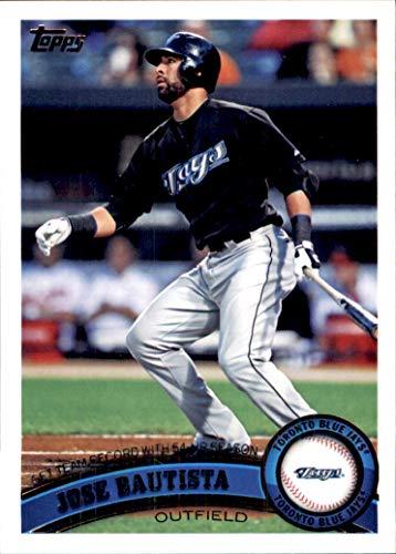 - Jose Bautista Joey Bats TORONTO BLUE JAYS 2011 Topps #346