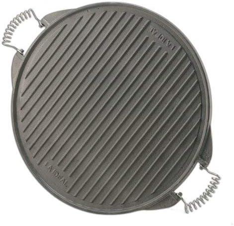 PaellaWorld 11025 Plaque de Grill Fonte légère Diamètre 25cm