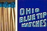 Diamond Ohio Blue Tip Matches, 250-ct Box