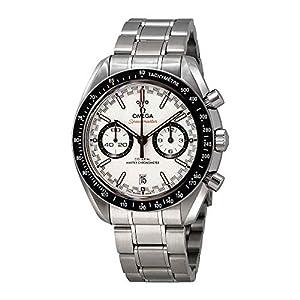 Omega Speedmaster Racing 329.30.44.51.04.001 - Reloj automático para Hombre, Esfera Blanca 8