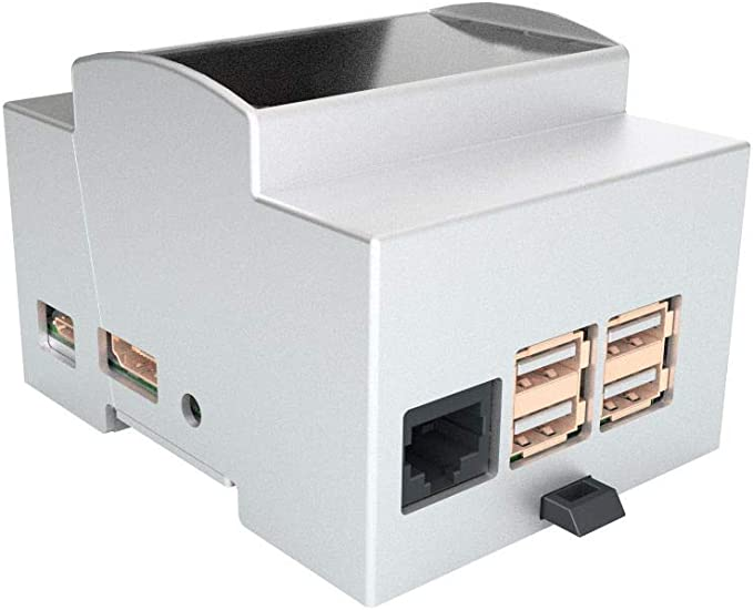Caja carril DIN para tarjeta odroid C1 + y odroid C2: Amazon.es ...