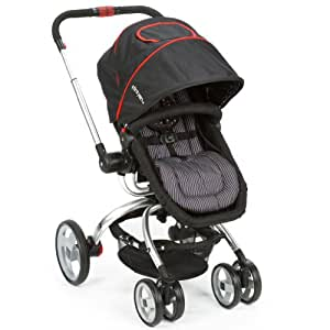 The First Years Wave Stroller, Black/Red (Discontinued by Manufacturer) (Discontinued by Manufacturer)