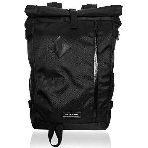 BlackTail - Outdoor 30L Lightweight RollTop Dry Bag Laptop - Camping Trip To A For Pack How