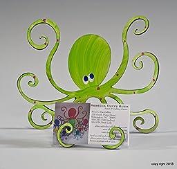 Octopus Hand Painted Steel Sculpture (MEDIUM)