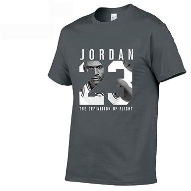 6ad37567811b Amazon.com  Jordan t Shirts Jordan 23 Men T-Shirt Swag T-Shirt Cotton Print  Men T Shirt  Clothing