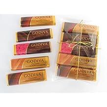 Gift Pack Sampler Assortment of 5 Godiva Chocolate Candy Bars - Flavors Vary (1.5oz)