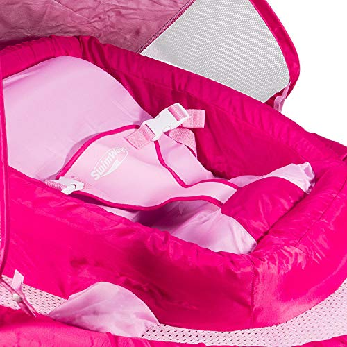 SwimWays Infant Baby Spring Float, Pink by SwimWays (Image #1)