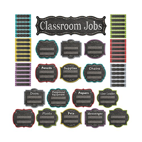 - Creative Teaching Press Chalk It Up! Classroom Jobs Mini Bulletin Board