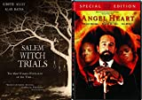 Witches and Devils and Ghosts - Salem Witch Trials & Angel Heart (Special Edition) & Sleepy Hollow 3-DVD Bundle