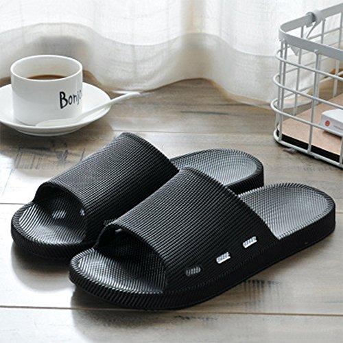 Casual WILLIAM Slide Slipper Black Womens Slip Anti Soft Bath House Flat Couple Shower amp;KATE Men Sandals XBaXRq
