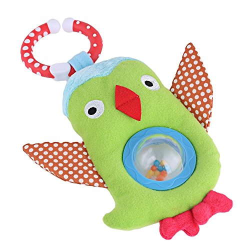 Parit Baby Soft Animal Toy Kids Rattles Bird Bed Bells Developmental Infant Toys (Pokemon Cards 220)