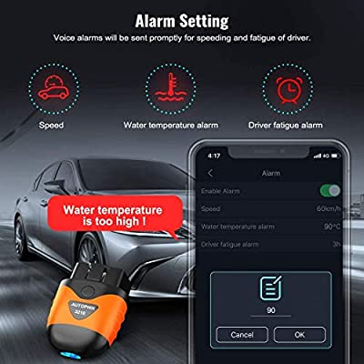 AUTOPHIX OBDCheck OBD2 Bluetooth Scanner Auto OBD II Diagnostic Scan Tool for iOS & Android, Bluetooth 4.0 Car Check Engine Light Code Reader Exclusive App for Quality-Newest Generation: Automotive