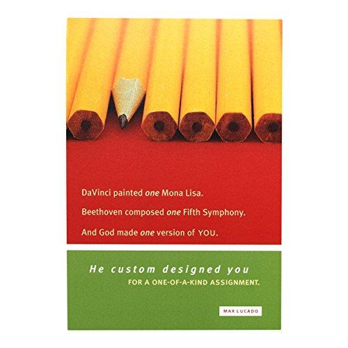 Birthday Inspirational Boxed Cards - Max Lucado - Pencils